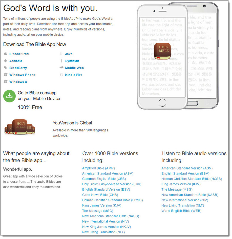 Free Bible Resources - Bibles for Asia